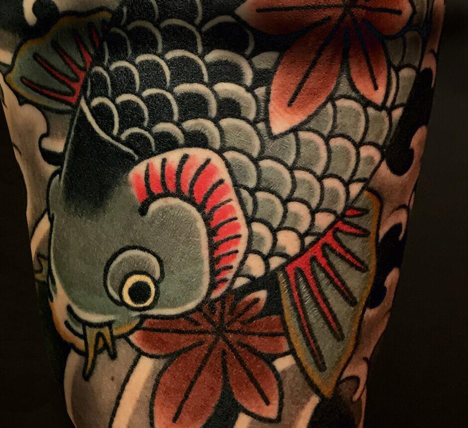 Japanische Tattookunst Lars Wilczinski