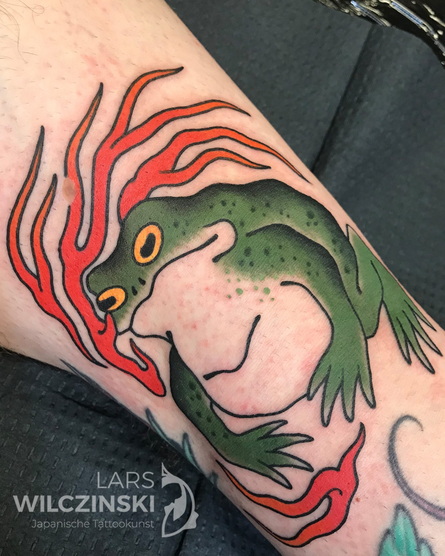Tattoo Kaeru Frosch