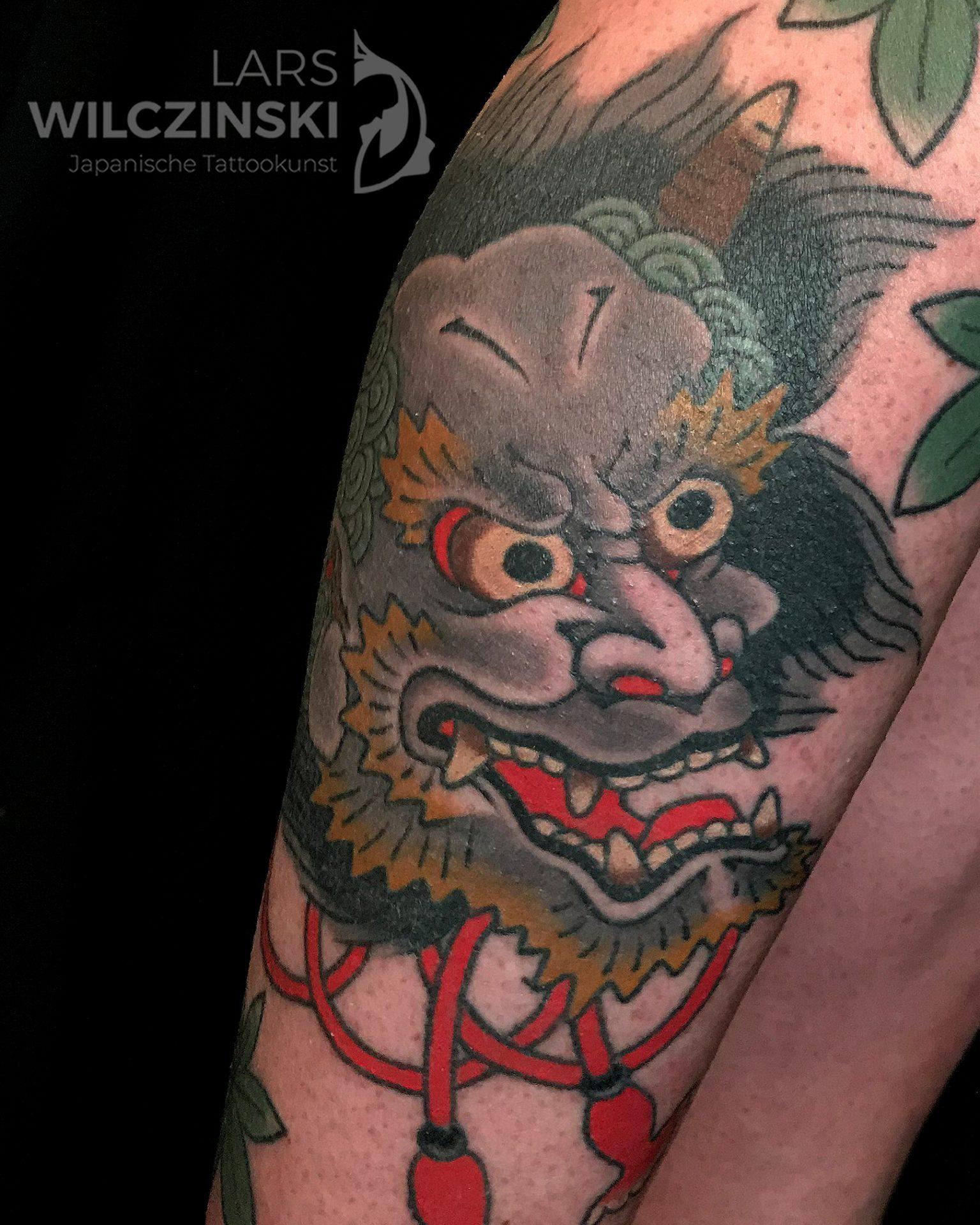 Tattoo Oni Dämon