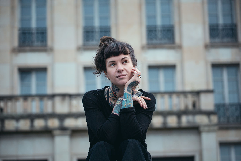Tattookünsterlin Tanja Schulze