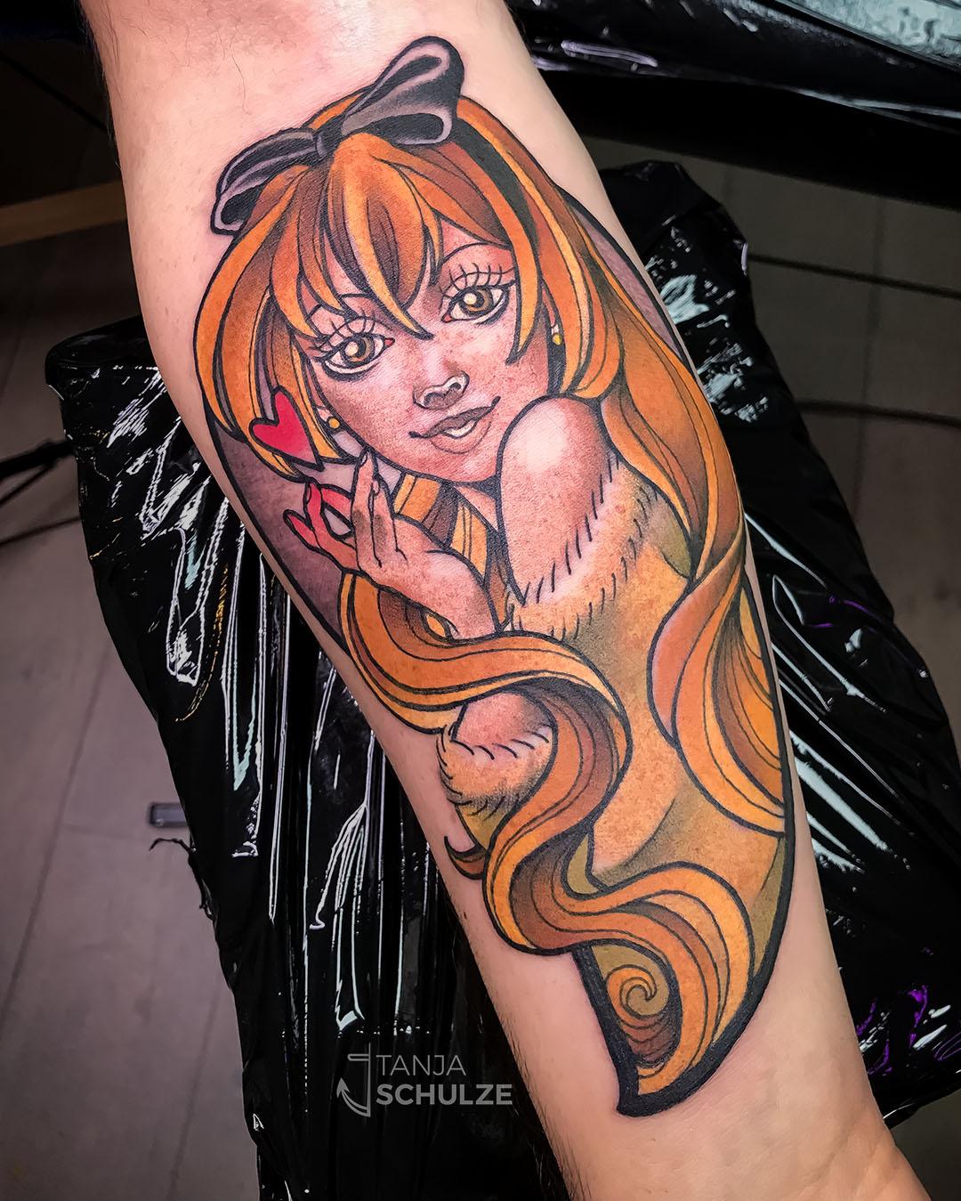 Tattoo Kouko Kaga Golden Time