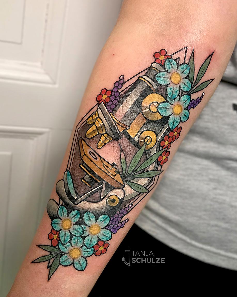Tattoo Mikroskop